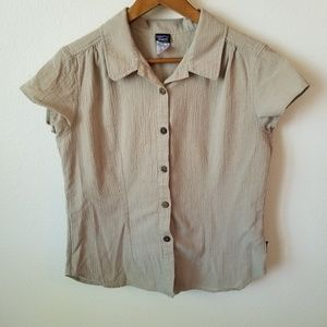 Patagonia Organic Cotton Short Sleeve Button Down